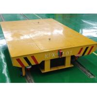 Quality Storage Warehouse Transport Big Crates Motorized Transfer Carriage For Logistic Field for sale