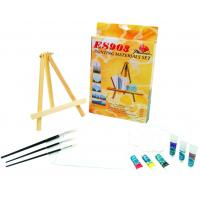 Quality Beautiful Oil Painting Sets For Adults With Table Triangular Easel for sale
