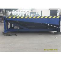 Quality Stationary Hydraulic Loading Dock Equipment , Blue Warehouse Dock Levelers for sale