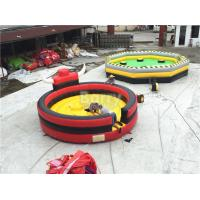 Buy cheap Professional Inflatable Sports Games Rodeo Bull / Inflatable Bull Riding Ring from wholesalers
