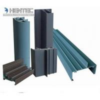 Quality Commercial , School Aluminium Window Profiles Silvery Color  6063 6060 6061 for sale