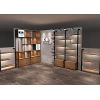 Buy Leisure Modern Style Wall Handbag Display Units LED Stop Lights Decorated at wholesale prices