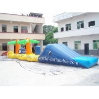 Quality Inflatable water park games toys , inflatable floating water obstacle coure for sale