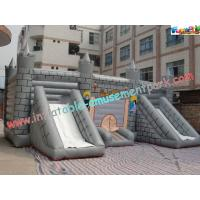 Quality Kids Commercial Inflatable Bouncer Slide , Outside Magic Castle for sale