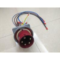Buy cheap 1983 5P 125AMPS 400V IP67 Water Resistance Inlet Hard Plastic 3rd Generation from wholesalers