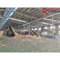 5-8 M3/Hour Plastic PET Bottle Recycling Machine Full Automatic With Dewatering Drying for sale