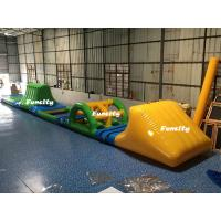 Buy Swimming Pool Kids Inflatable Water Toys Green / Yellow 16.5 * 2 m 3 Years Warranty at wholesale prices