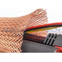 Quality Meta Tinned Copper Braided Sleeving , Expandable Cable Shielding Sleeve for sale