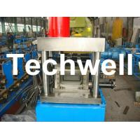 Quality U Shaped Channel Purlin Roll Forming Machine With 1.5 - 3.0mm Thickness TW-U100 for sale