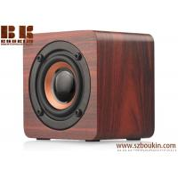 Quality Bluetooth Speaker Wooden with 6h Play Time, Wireless Computer Speaker with Enhanced Bass Resonator for sale
