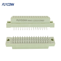 Quality Female Vertical 3 Rows 32 Pin DIN 41612 Eurocard Connector for sale