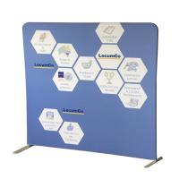 Quality Portable Tension Fabric Displays Free Standing Photo Booth Recycled Materials for sale