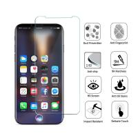 Quality Anti Shatter 9H iPhone Tempered Glass Screen Protector 2.5D Round Angle for sale