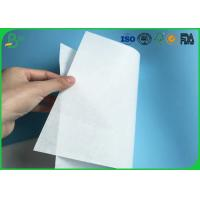 Quality Environmental Friendly 30gsm 35gsm 40gsm White Kraft MG Paper For Making Food Packaging for sale