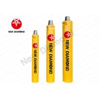 Quality Alloy Steel Rock Drill Accessories / Borewell Earth Drilling Tools ND Series for sale