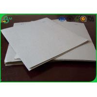 Quality Uncoated Grey Board Paper Custom Size 300gsm - 3150gsm For Shoes Box for sale
