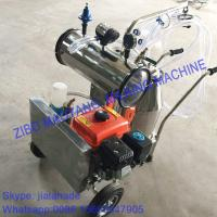 Quality Gasoline-Vacuum Pump Dual-Typed Single Bucket Portable Milking Machine,Double Motor for cow and goat,easy handle machine for sale