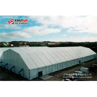 Quality High Capacity Large Storage Tents Temporary Storage Shed No Bearing Column for sale