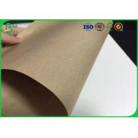 Quality 80gsm 150gsm Kraft Liner Board , 600 * 900mm Kraft Paper Sheets For Packaging Box for sale