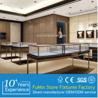 Quality gold modern famous jewelry showcase for shop 2015 for sale