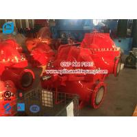 Quality Red Color 2000gpm Diesel Engine Driven Fire Pump Set Used In Building for sale