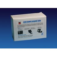 Buy cheap CR80 Cleaning Card ATM Cleaning Kit Compatible With Card Printer Machine from wholesalers