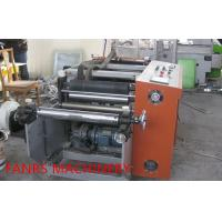 Buy Semi Automatic Housekeeping Aluminium Foil Rewinder Machine With Auto Feeding at wholesale prices