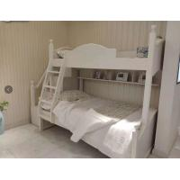 Buy cheap Modern Simple Two Levels Childrens Single Beds With Ladder And Cabinet from wholesalers