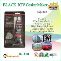 Quality Black RTV High Temp Gasket Maker / Silicone Rubber Sealant For Vehicle Body for sale