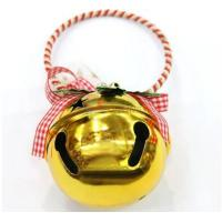 Quality Wholesale christmas tree decoration golden big bell for sale