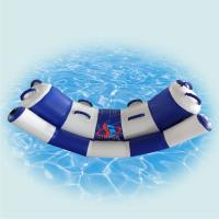 Quality Lightweight Inflatable Water Toys For Lake / Colored Inflatable Aqua Park for sale