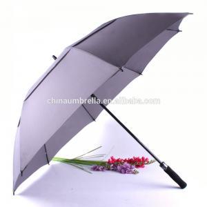 Quality oversized Golf Umbrella, 27 Inch Auto Open Close Strong Super Automatic Vented Golf Umbrella , Vented Windproof Umbrella for sale