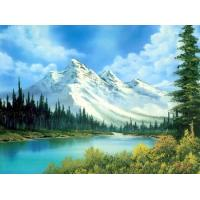 Quality landscape painting snow picture wall art for sale