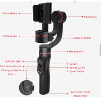 Quality Action Camera Smartphone Gimbal Stabilizer  Stylish Delicate Anti Slip for sale