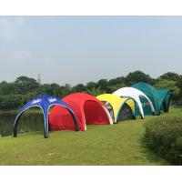 China Attractive Inflatable Advertising Tent Easy Assemble Fire Retardant Light Weight on sale