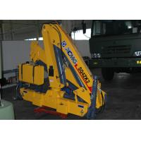 Quality 4 Ton Mobile Knuckle Boom Truck Crane For Construction for sale