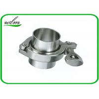 Quality ISO 2852 Sanitary Stainless Steel Tri Clamp Fittings , Clamp Pipe Couplings For Food Industry for sale