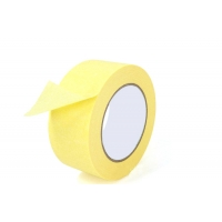 China High Adhesive Bright Yellow Crepe Paper Masking Tape on sale