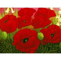 Buy 2012 flower painting blue rose painting at wholesale prices
