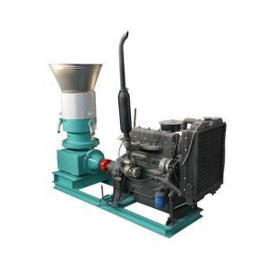 Quality 300BD Flat Die Pellet Mill with Diesel Engine for sale