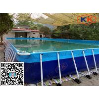 Quality Rectangular Inflatable Swimming Pool Durable For amusement  park for sale
