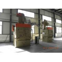 Quality Feeding Automatic Blasting Machine , Cleaning Nut Bolts Dustless Blasting Machine for sale