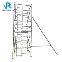 Quality Rising Aluminium Mobile Scaffold For Quick Erect Sysytem Ce / Tuv / Sgs Certified for sale