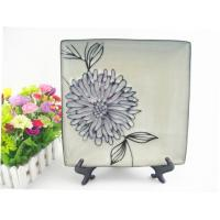 Quality porcelain handprint plate 9-10.5 inches plate supported salad plate beefsteak plate for sale