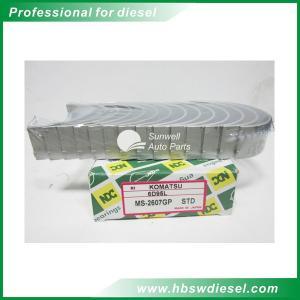 Buy Komatsu S6D95L engine main bearing MS-2607GP STD at wholesale prices