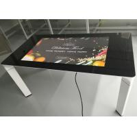 China 43 Inch Coffee Table Capacitive Touch Display Interactive Touch Table on sale