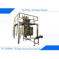 China Vertical Gusseted Bag Automatic Packing Machine 200g - 2000g For Washing Powder on sale