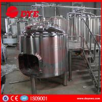 Buy Energy Efficient Beer Making Machine Home Brew Equipment PLC Or Touch Screen at wholesale prices