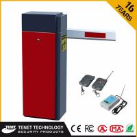 Quality TAB-310 2-6M Straight Arm Red Parking Barrier Gate For Parking Access Control System for sale