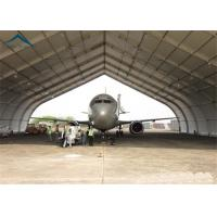 Quality Curved Aluminum  Aircraft Hanger 25m By 40m For Warehouse Wind - Resistant for sale